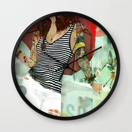 HOTEL PARADISO Wall Clock