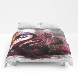Dragged under by a giant Clam Comforters