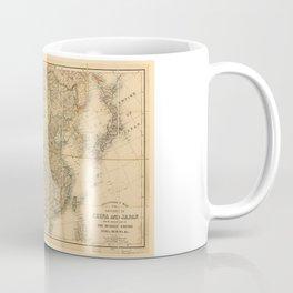 Map of China and Japan (c 1880) Coffee Mug