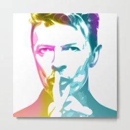 David 'Starman' Bowie 2 Metal Print