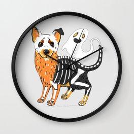Halloween Dog  Wall Clock
