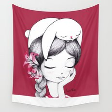 Bunny Dreams 2 Wall Tapestry