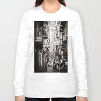 italy Long Sleeve T-shirts featuring Italy  by Kráľ Juraj
