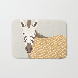 Whimsical Zebra Bath Mat