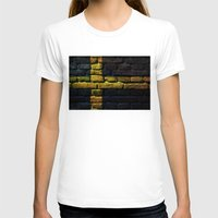 sweden T-shirts featuring Sweden by Nicklas Gustafsson