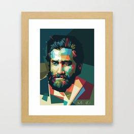 Jake Gyllenhaal - Mad4U Framed Art Print
