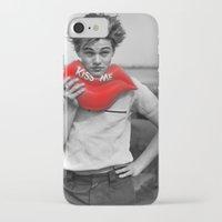 leonardo dicaprio iPhone & iPod Cases featuring leonardo by Roman Belov