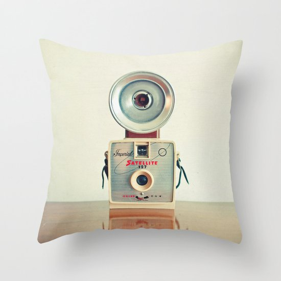 Satellite Throw Pillow