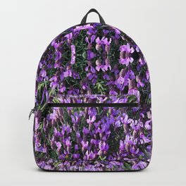 SPANISH LAVENDER AND ONE BEE Backpack