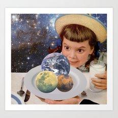Planet Eater Art Print
