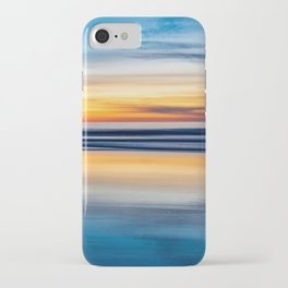 Cloudy Abstract Seascape Reflection iPhone Case