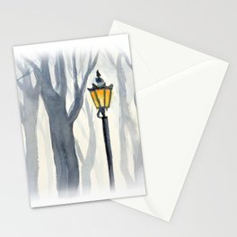 Lonely lantern Stationery Cards