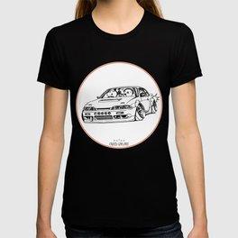 Crazy Car Art 0201 T-shirt