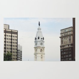 Philadelphia City Hall from the Parkway Rug