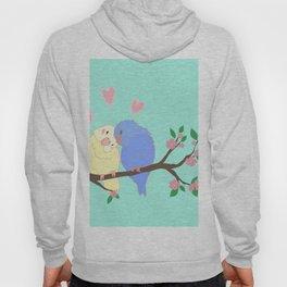 Love birds Valentine's day art Hoody
