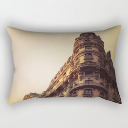 Ansonia, NYC - Dusk Rectangular Pillow