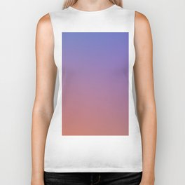 OXIDISED METAL - Minimal Plain Soft Mood Color Blend Prints Biker Tank