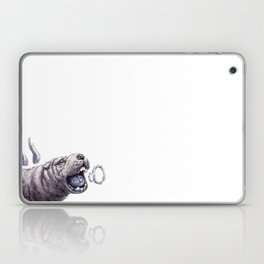 smoking sharpei Laptop & iPad Skin