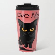LOVE ME Metal Travel Mug