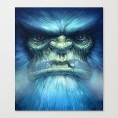 Abominable Snowman Canvas Print