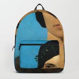 Jean-Leon Gerôme - Head of an Italian Woman Backpack