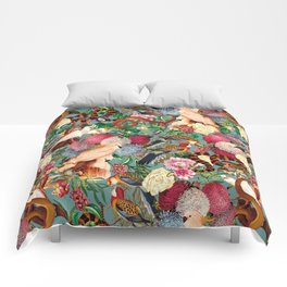 Floral and Animals pattern Comforters