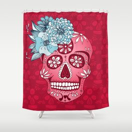 Cotton Sugar Shower Curtain