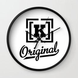 K_original Wall Clock