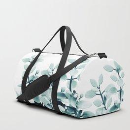 Eucalyptus Leaves Green Vibes #2 #foliage #decor #art #society6 Duffle Bag