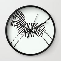 gentleman Wall Clocks featuring gentleman by Patricia Mafra