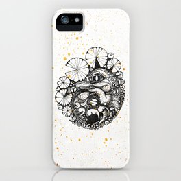 Baby Crocodile Inktober :: I Am The Unborn iPhone Case