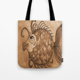 AMY IN SEPIA Tote Bag