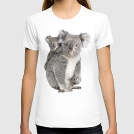 Koala bear and her baby T-shirt