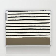 Cappuccino x Stripes Laptop & iPad Skin