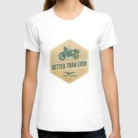 moto T-shirts featuring moto guzzi by Liviu Antonescu