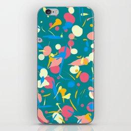 Paint splashes iPhone Skin