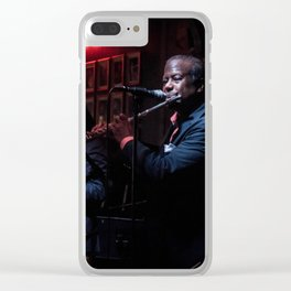 Jazzy Clear iPhone Case