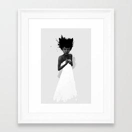 Trine Framed Art Print