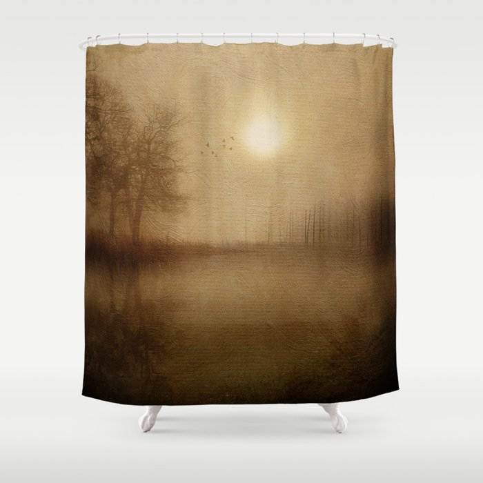 From the morning Shower Curtain