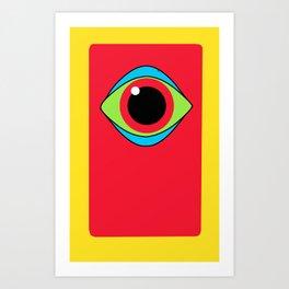 Eye see colors Art Print