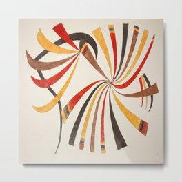 Abstract art 001 Metal Print