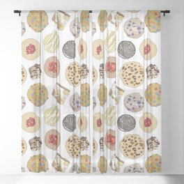 Cookie Heaven Sheer Curtain