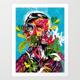 Human nature 02 Art Print