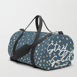 Stay Gold - Golden Drops Duffle Bag