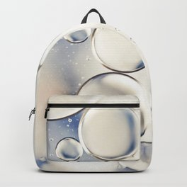 pearlescent water droplets Backpack
