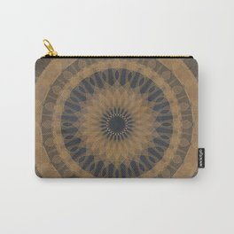MANDALA GOLD Carry-All Pouch