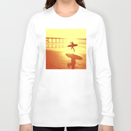 The Shadow Surfer Long Sleeve T-shirt