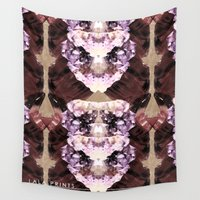 minerals Wall Tapestries featuring Mira Minerals by lalaprints