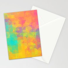 Light and Geometry Stationery Cards