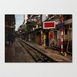 Evening in Hanoi Canvas Print